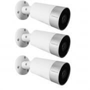 Kit 3 Cameras IP Intelbras Mibo Im5 Inteligente Wi-fi 1080p