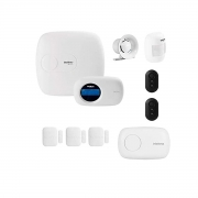 Kit Alarme Amt 2018 E Intelbras App 4 Sensores + Itens