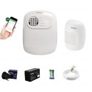 Kit Alarme ANM 24 Net 1 Sensor Infra S Fio Intelbras App Cel