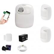 Kit Alarme ANM 24 Net 2 Sensor Infra + 1 Porta App Cel