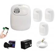 Kit Alarme ANM 24 Net 3 Sensor Infra C/ Fio Intelbras