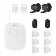 Kit Alarme Infravermelho Intelbras Sem Fio Essencial 8 Sensores