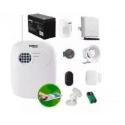 Kit Alarme Intelbras 6 Sensores Porta e Presença Sem Fio