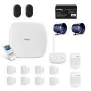 Kit Alarme Intelbras Amt2018e Com App e 10 Sensores Sem Fio
