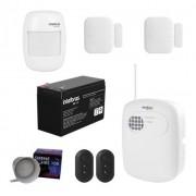 Kit Alarme Intelbras S/ Fio 3 Sensores E Discadora Anm 3004