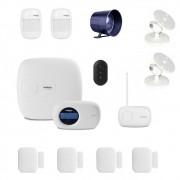 Kit Alarme Monitorado 6 Sensores Sem Fio Ethernet Intelbras