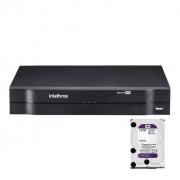 Kit Cftv 6 Câmeras Intelbras Dvr Mhdx 1108 c/HD 1tb Purple