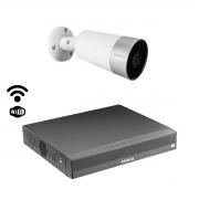Kit cftv Intelbras Int. artificial 1 cam Mibo Im5 NVD 1304