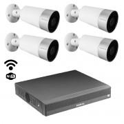 Kit cftv Inteligente Wi-fi 4 cam Im5 mibo NVD / NVR 1304 6mp