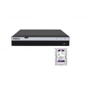 Kit Cftv Mhdx 3116 C/ Hd 3tb + Conecta Mais Personalizado Josino