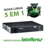 Kit Intelbras 6 Cam 1220b + 2 cam 1220D Dvr 8ch 1108 C/ HD