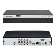 Kit Intelbras 6 Cam  1220B / 2 Can 1220D Dvr Mhdx 3108 C/ HD
