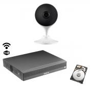 Kit Intelbras Int. artificial 1cam Im3 NVD 1304 c/HD 500gb