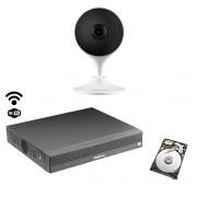 Kit Intelbras Int. artificial 1cam Im3 NVD 3104 c/HD 500gb