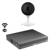 Kit Intelbras inteligencia artificial 1 cam Im3 + NVD 3104
