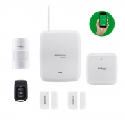 Kit Sistema de Alarme s/ Fio Contra Roubo AMT 8000 Slim