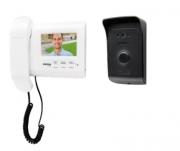 Kit video porteiro ivr 1010 + camera + extensão