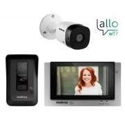 Kit Videoporteiro Wt7 Intelbras Com 2 Câmeras Vhd 1010 B