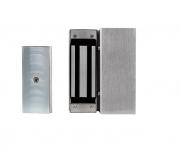 KT 741 Inox Conjunto de suportes com fechadura eletroímã FE 150 Intelbras
