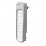Luminária Intelbras Emergência 30 leds Lea 150 Lúmens 1w Luz