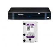 NVD 1204 C/ HD 1TB Gravador Digital Vídeo em Rede Intelbras