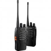 Par De Rádios Comunicadores Multilaser 8Km Walkie Talkie - TV003