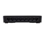 SF 800 VLAN ULTRA Switch 8 portas Fast Ethernet com VLAN Fixa e proteção antissurto