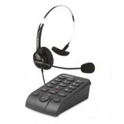 Telefone Headset Atendimento Telemarketing Intelbras Hsb40