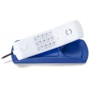 Telefone Intelbras com fio gondola TC20 Azul