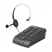 Headset Telefone Intelbras Hsb50 Telemarketing - Atendimento