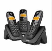 TS 3113 Telefone sem fio digital com dois ramais adicionais