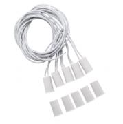 5 Pç XAS de Embutir Sensor de abertura de embutir com fio para portas e janelas