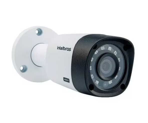 2 Camera Intelbras 20 Metros Hd 720p Vhd 1120b 2,6mm 1mp