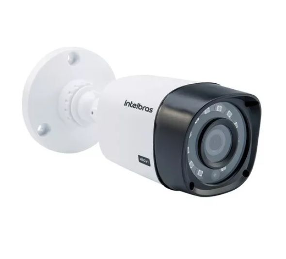 2 X Câmera Segurança Infra 30m 1mp Hd 720p Vhd 3130b Noturna