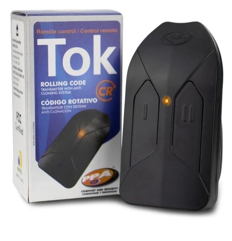 3 Controle Ppa Tok Saw Original 433 Portão Eletrônico