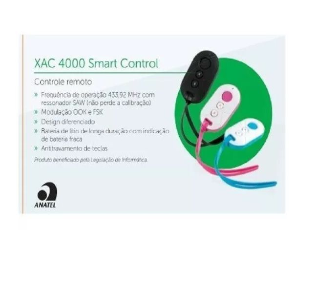 3x Controle Intelbras - Seg Ppa Rcg Garen Alarme Portao