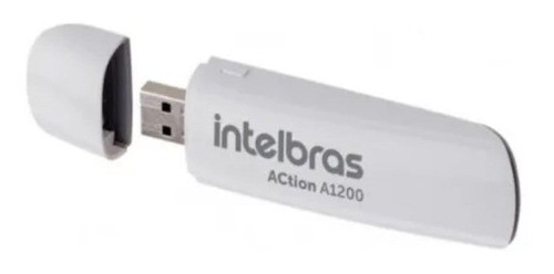 Adaptador Intelbras Usb 3.0 Wireless Dual Band Action A1200