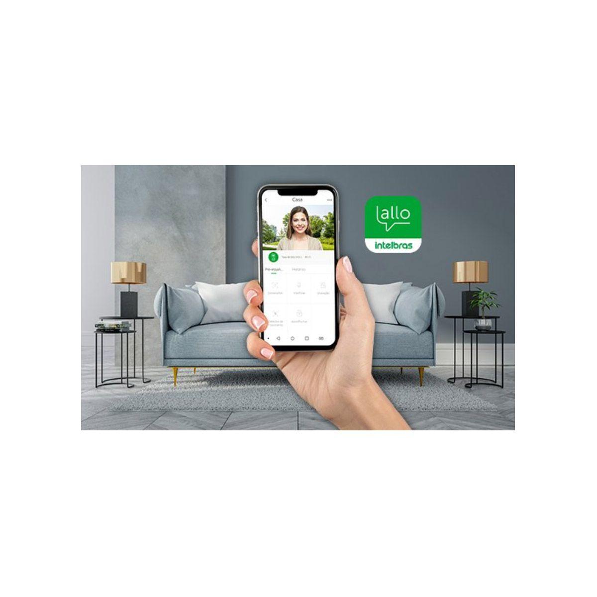 Allo w3 Videoporteiro Wi-Fi Vídeo Foto Sensor Presença Visão Noturna
