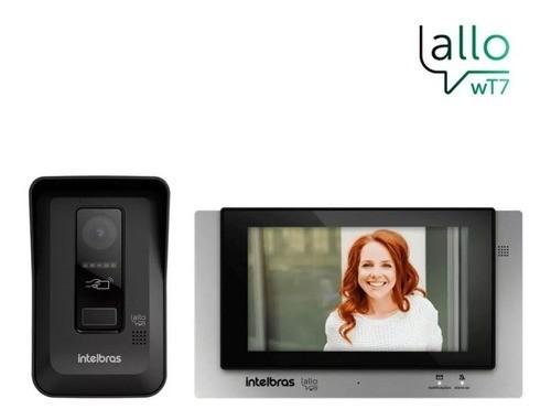 Allo wT7 Videoporteiro Por Aplicativo Wi-Fi Cartão Rfid Intelbras