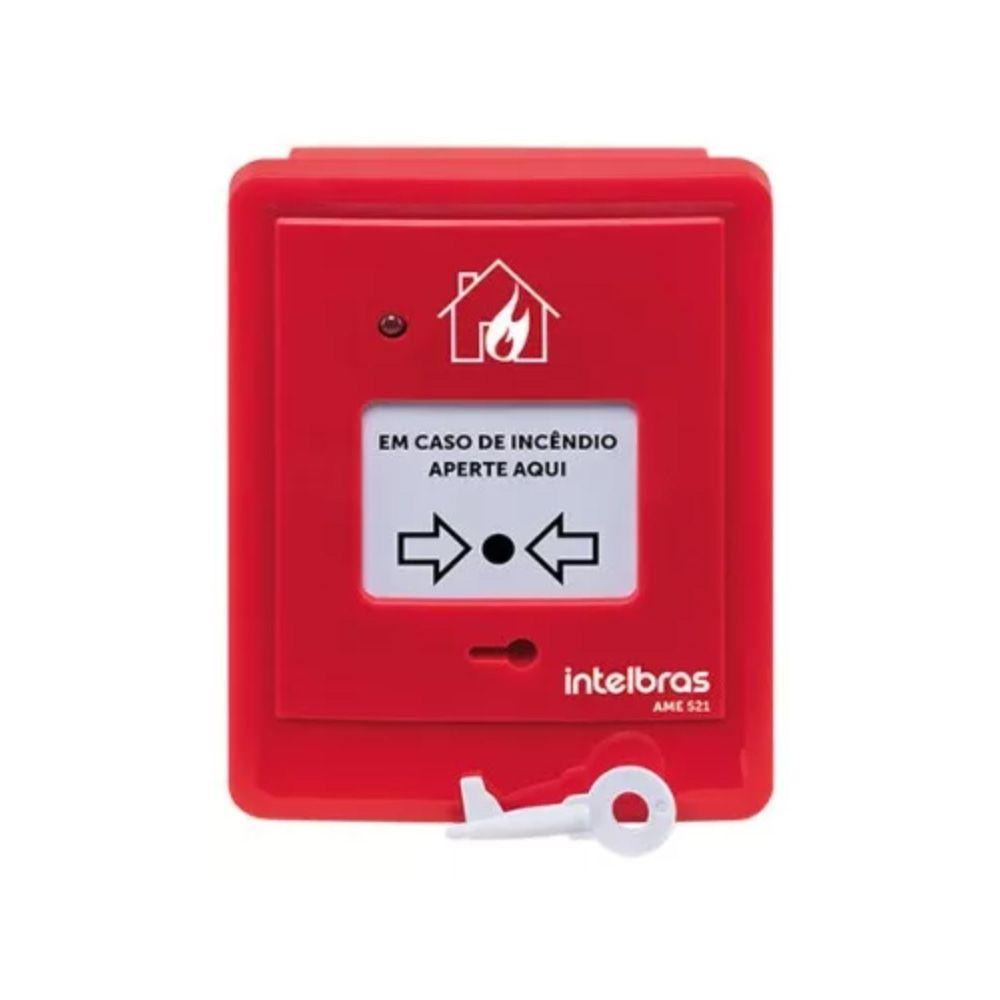 AME 521 Acionador manual endereçável sem sirene