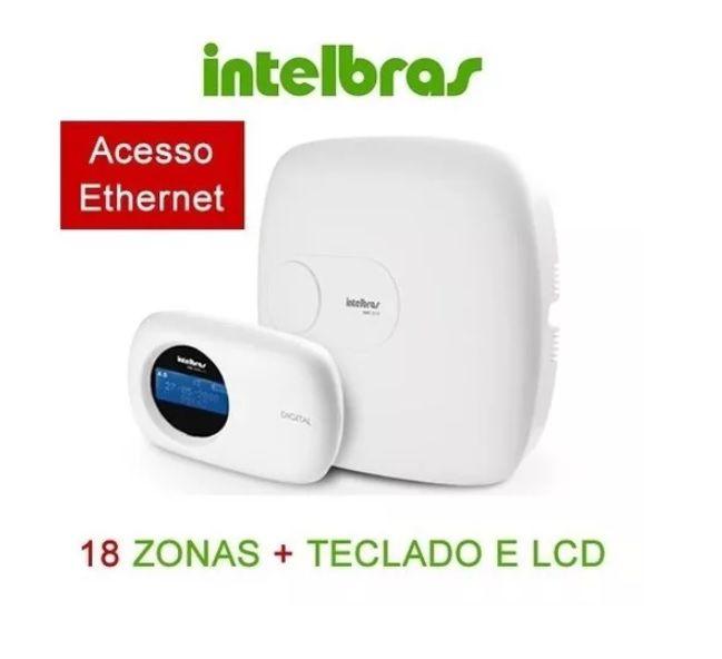 Amt 2018 E Central De Alarme Monitorada Com 18 Zonas