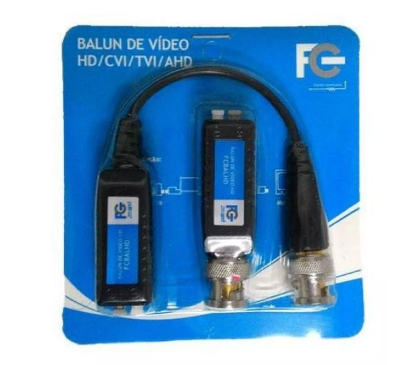 Balun Passivo Hd 1 Canal Par(2pc) - FC