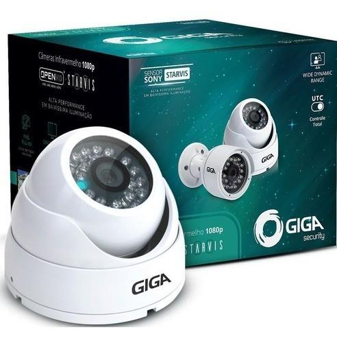 Câmera Segurança Full Hd 1080p Dome Giga Security Gs0051