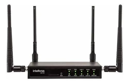 Central Pabx Ip Wi-fi 4g Multiplataforma Iad 100 Intelbras
