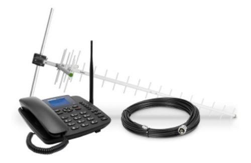 CFA 6041 kit de telefone celular fixo Intelbras 3G