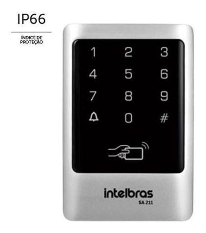 Controlador De Acesso Sa 211 Intelbras 125khz Externo IP66