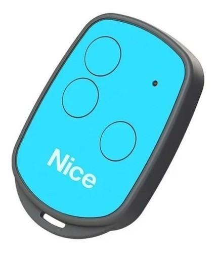 Controle Motor Portão Eletrônico Peccinin New Evo - Azul