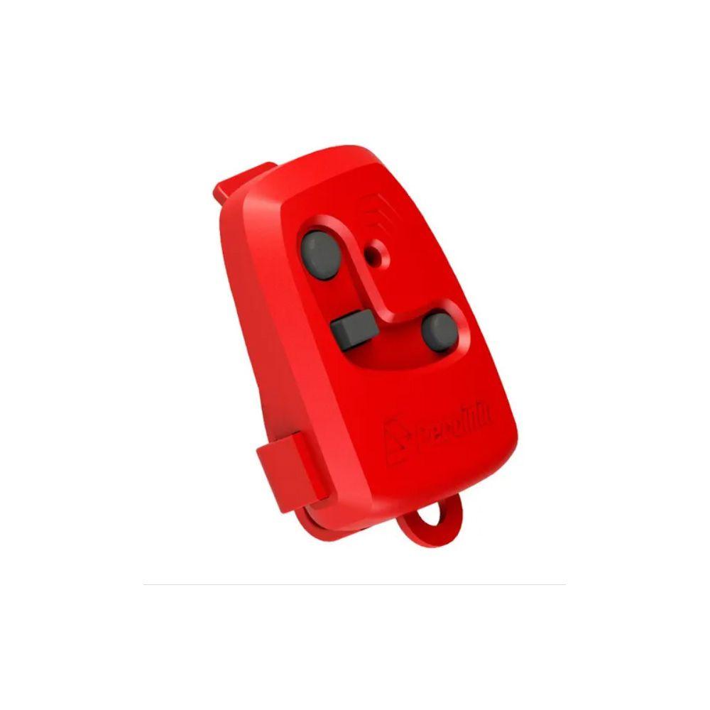 Controle Remoto Portão Peccinin Tx 3c 433mhz Original Vermelho