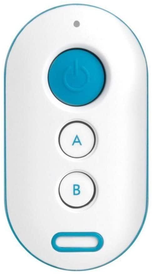 Controle Remoto Xac 4000 Azul Para Alarme 433 Mhz Intelbras
