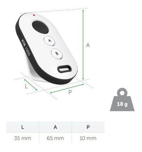Controle Remoto Xtr 1000 Preto/branco (sca 1000) Intelbras